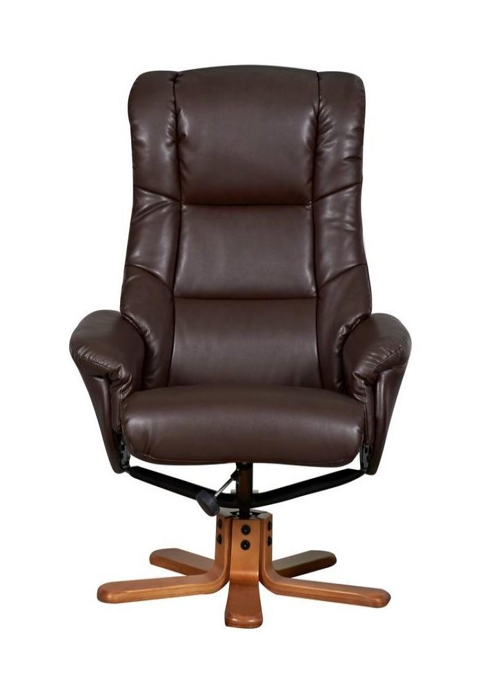 Childrens Recliner Chair Chicago Luxury Recliner 6922 - Nut Brown   121 Office ...