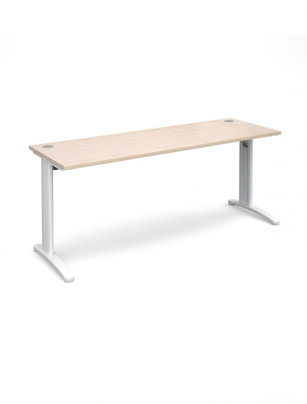 Maple Office Desk 1800x600mm Dams Tr10 Desk T618m 121 Office Furniture