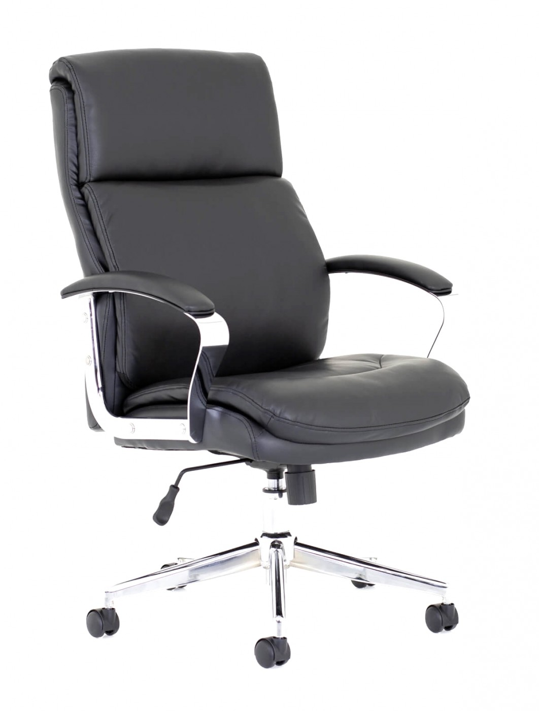 office chairs tunis black leather office chair tus01 121 office furniture. Black Bedroom Furniture Sets. Home Design Ideas