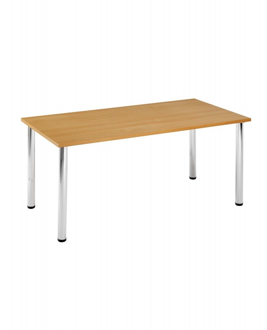Flexitable Rectangular Chrome Leg Cf2 121 Office Furniture